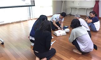 ฝึกอบรมการทำ CPR
