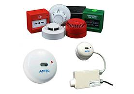 ระบบสัญญาณเตือนไฟไหม้ Fire Alarm และเซนเซอร์ตรวจจับเปลวไฟ